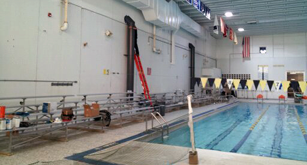 Countryside ymca paddock evacuator indoor pool air quality experts for Smith park swimming pool schedule