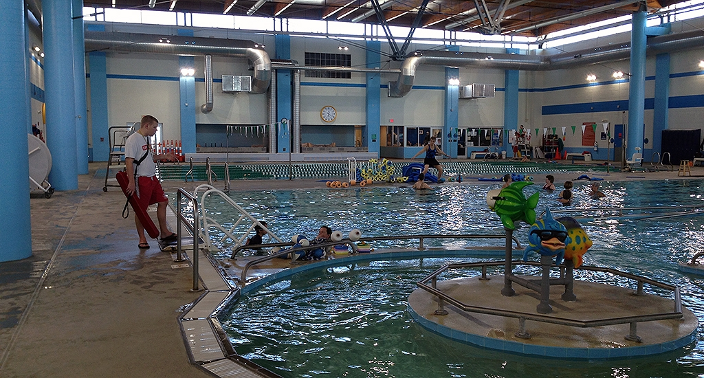 Harris ymca paddock evacuator indoor pool air quality for Pool show charlotte