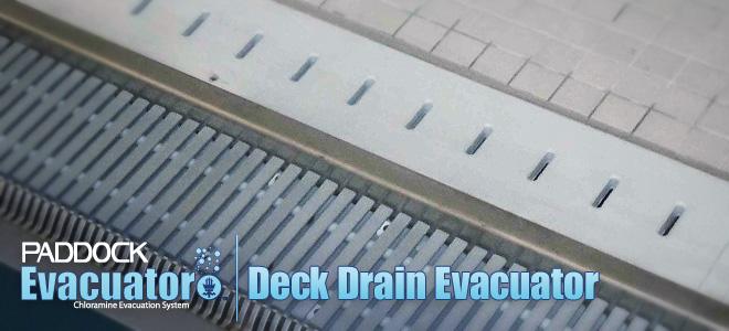 Deck Drain Evacuator
